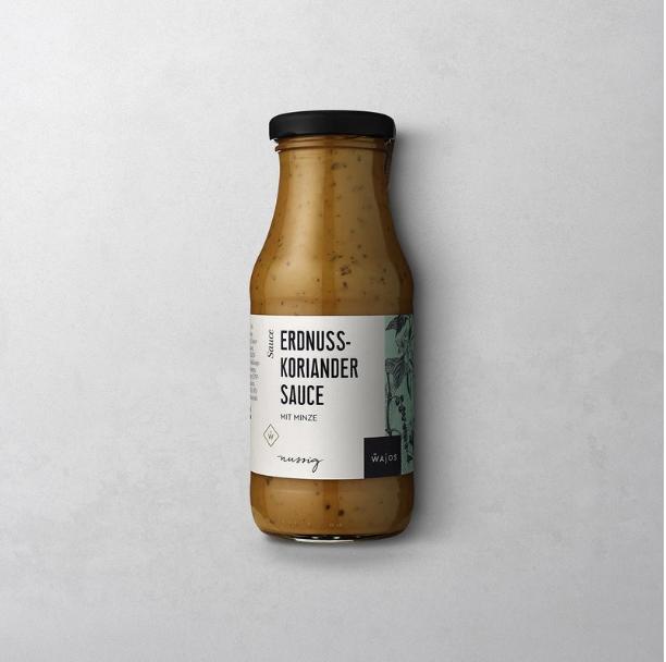 Erdnuss-Koriander-Sauce