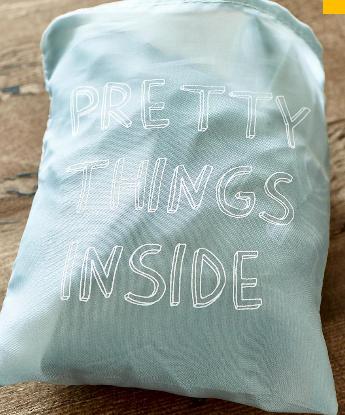 """Falttasche """"Pretty things inside"""""""