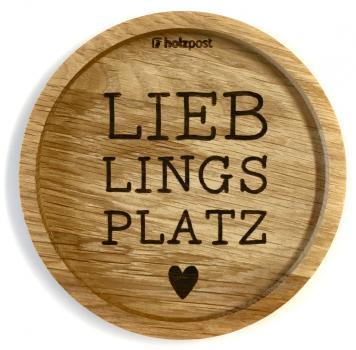 Untersetzer #Lieblingsplatz