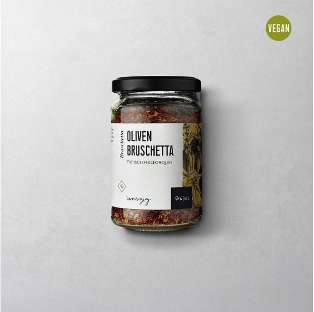 Oliven Bruschetta