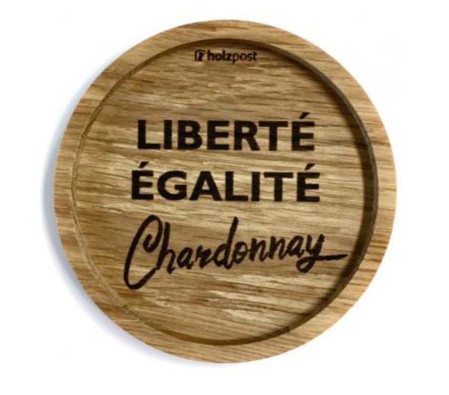 Untersetzer #Chardonnay