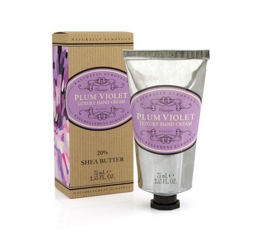 Naturally European Hand Cream 75 ml Tube - Plum Violet