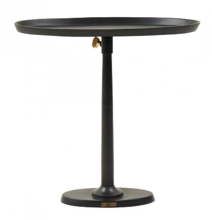 Kimberley Adjustable End Table (schwarz)