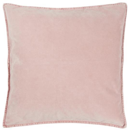 Kissenbezug Velour rosa