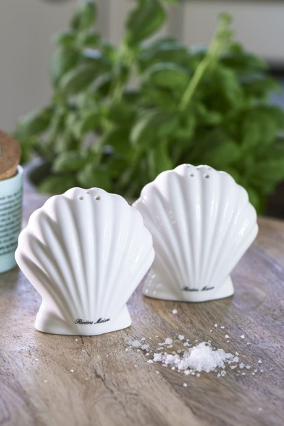 """Perfect Seashell Salt & Pepper"""