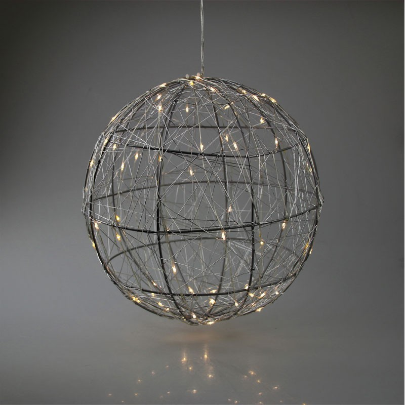 LED Drahtkugel