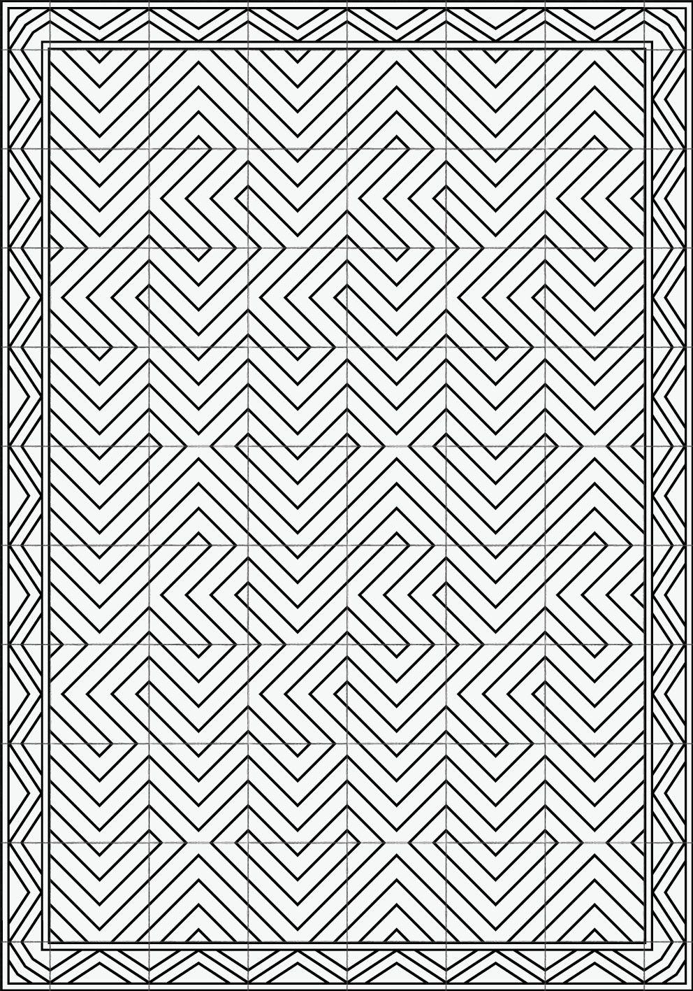 "Tischset ""Linien"""