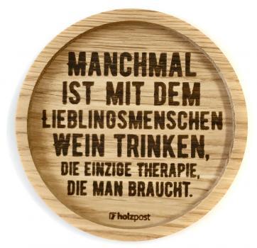 Untersetzer #Manchmal