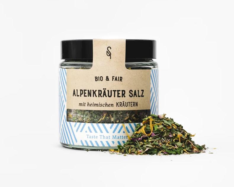 Alpenkräuter Salz Bio