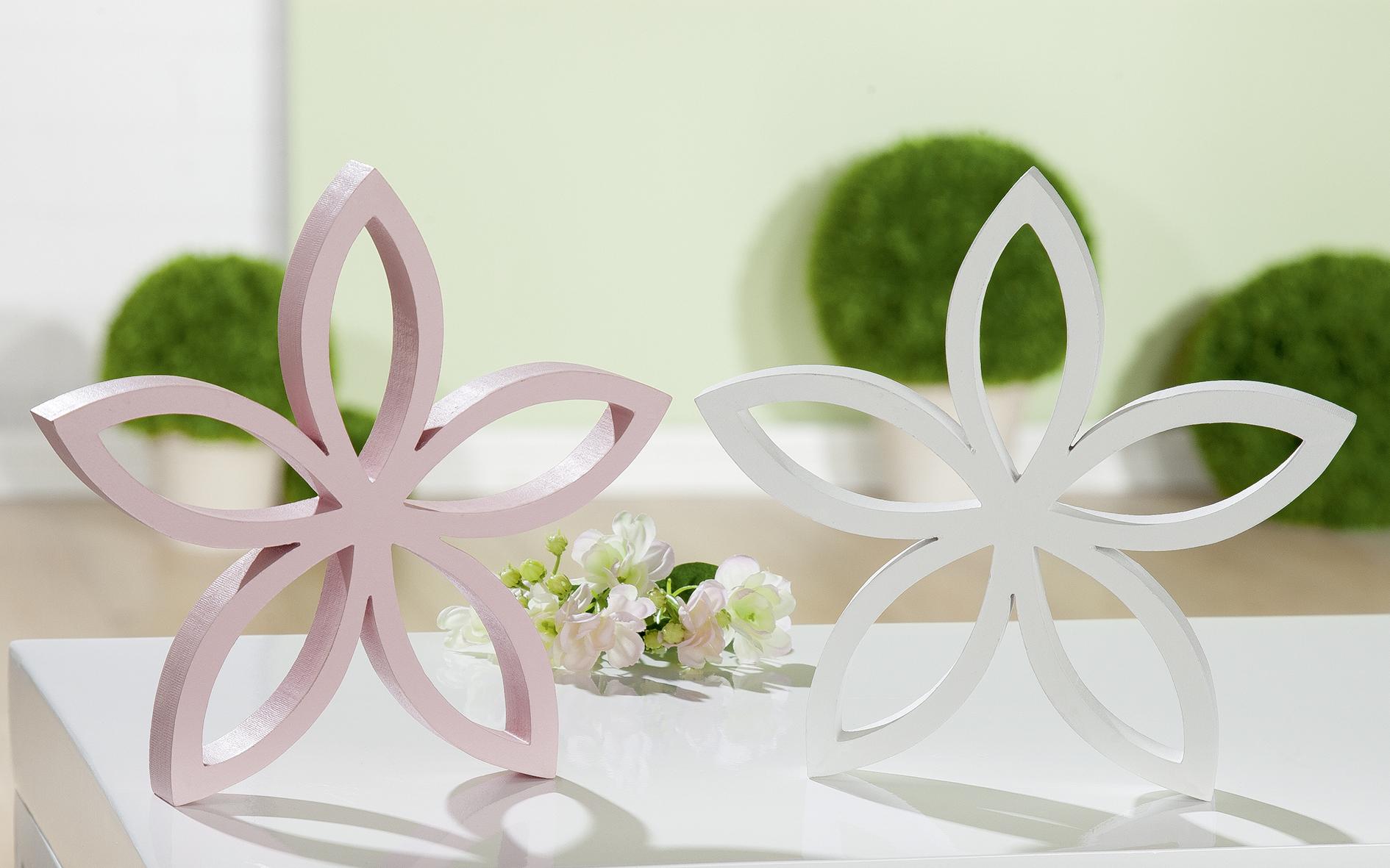 Blütenrelief, rosa