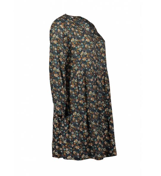 Kleid mit Blumenprint (Gr. 46)