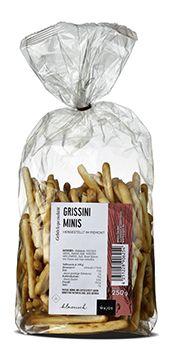Gourmet Grissini mini, 250 gr.