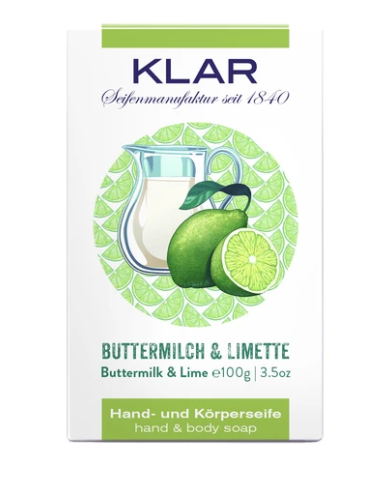 Buttermilch- & Limettenseife