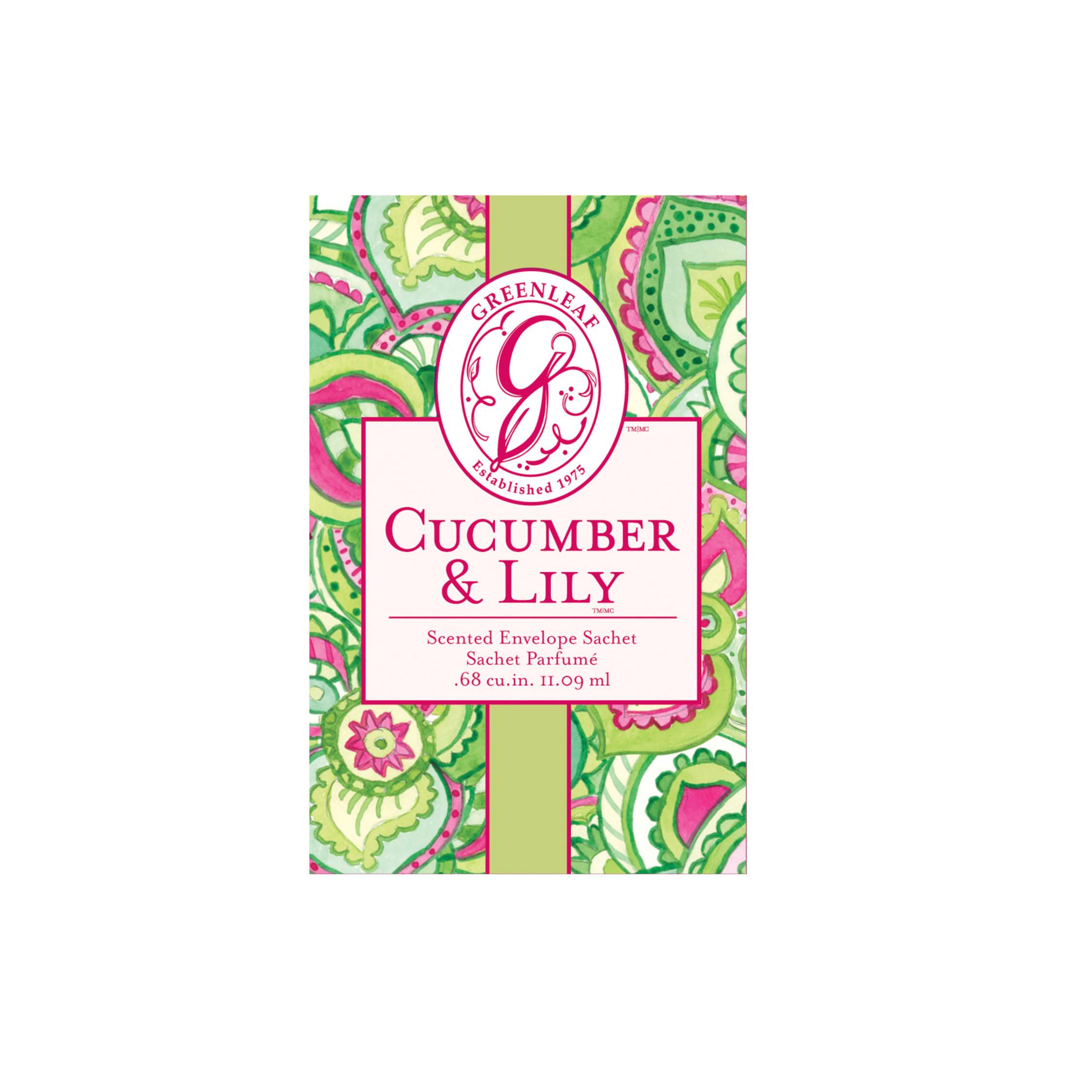 Cucumber & Lily Duftsachet (klein)