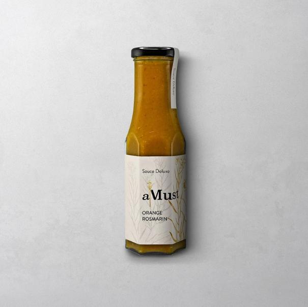 AMUST ORANGE ROSMARIN SAUCE  Sauce Deluxe