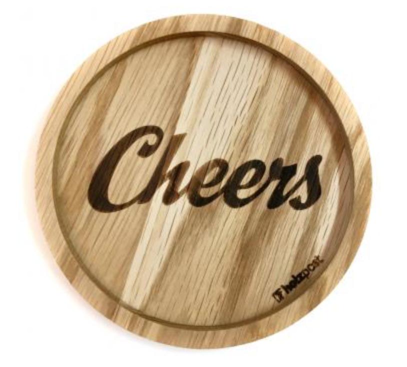 Untersetzer #Cheers