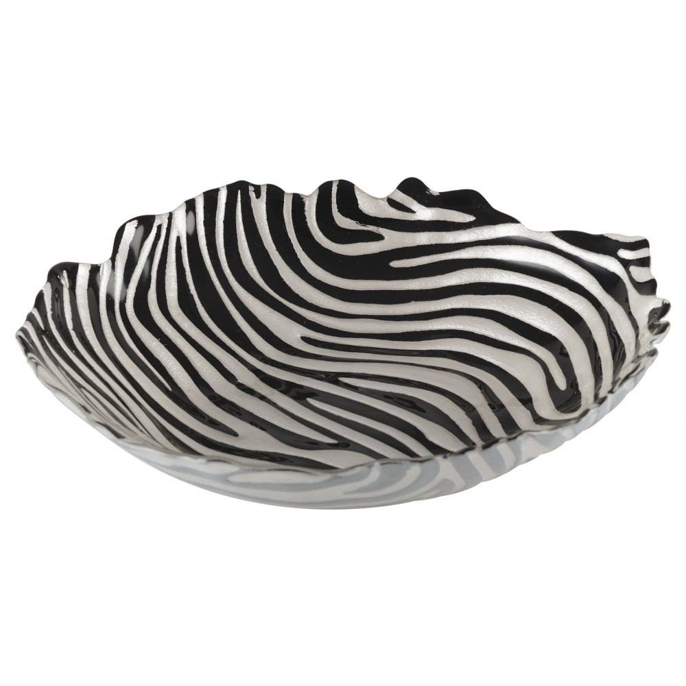 "Schale ""Zebra"""