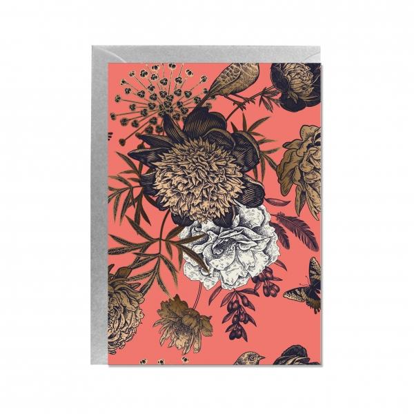 """Faltkarte """"Blumen"""""""