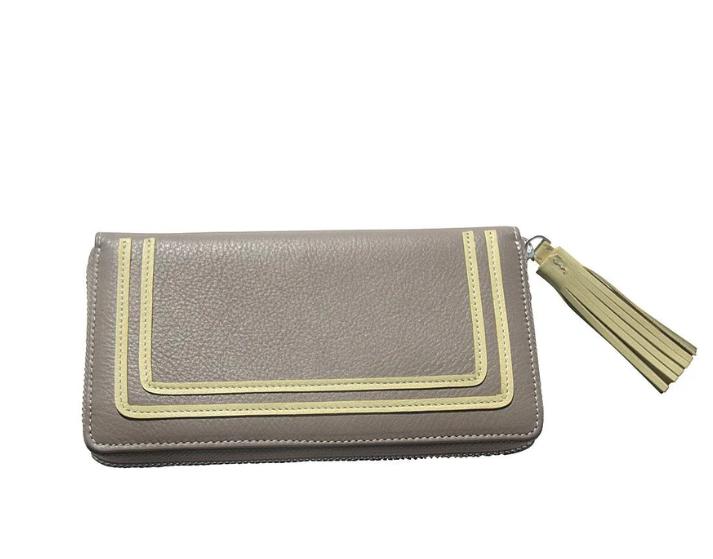 Geldbörse mit Tassel sortiert (grey/lemon)