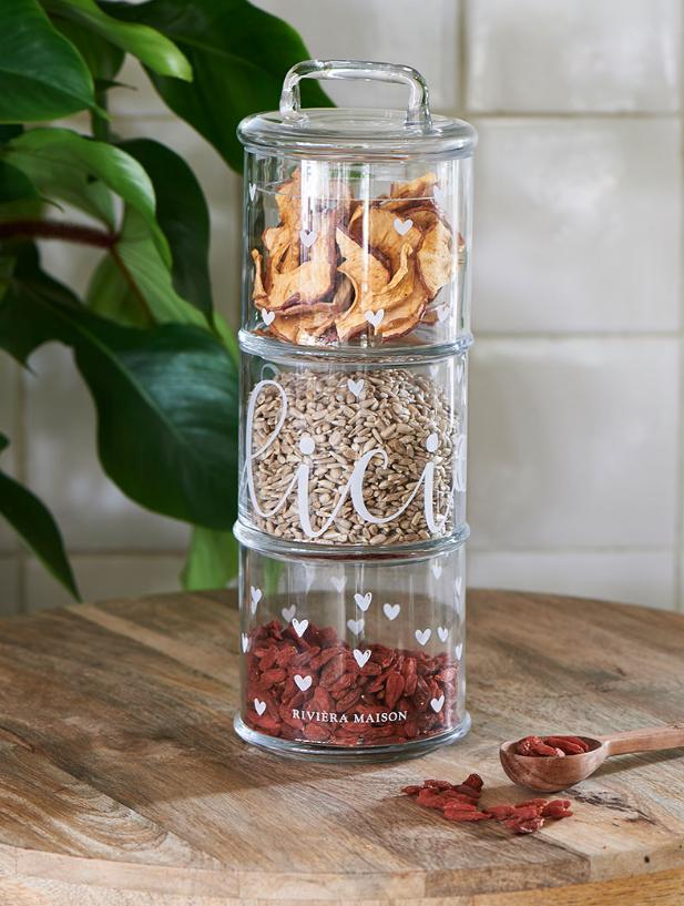 RIVIERA MAISON, Délicieux Storage Jar (3 Teile)